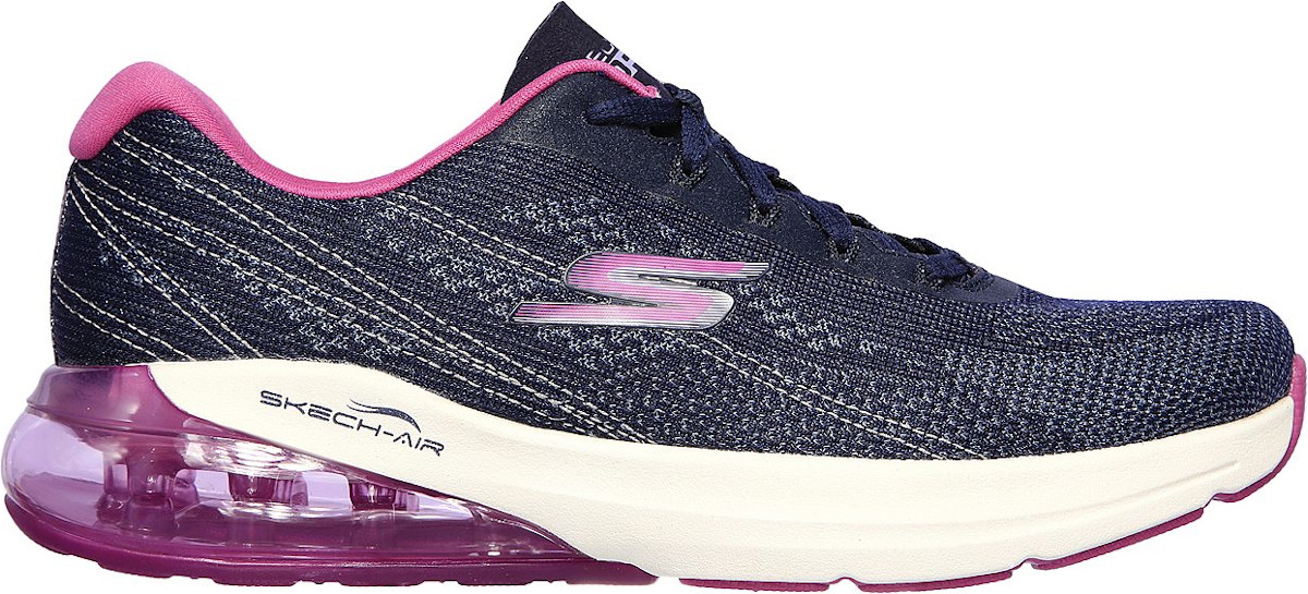 Skechers GO RUN AIR-SILVER SPARKLE Futócipő