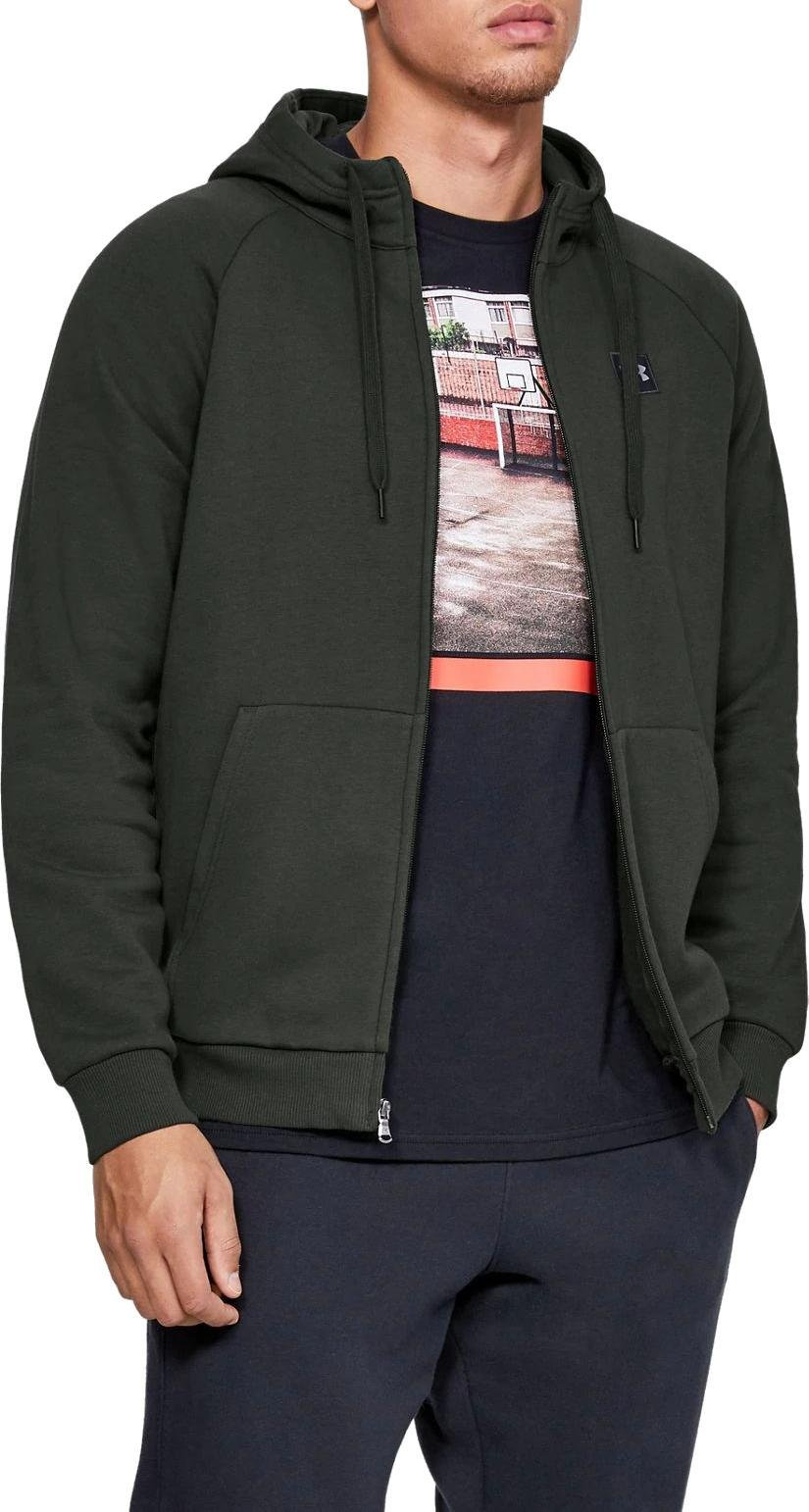 Under Armour RIVAL FLEECE FZ HOODIE Kapucnis melegítő felsők