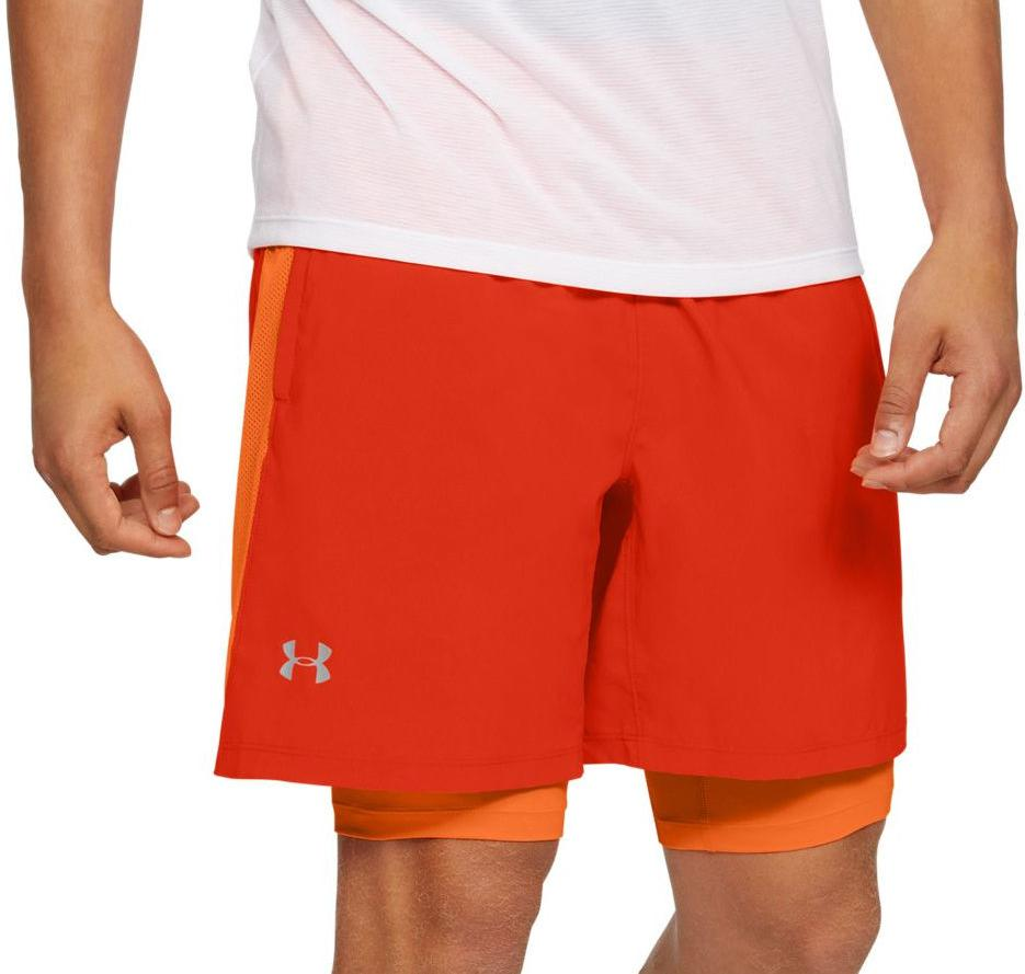 Under Armour UA LAUNCH SW 2-IN-1 SHORT Rövidnadrág
