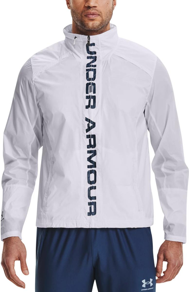 Under Armour Accelerate Pro Storm Shell-WHT Kapucnis kabát