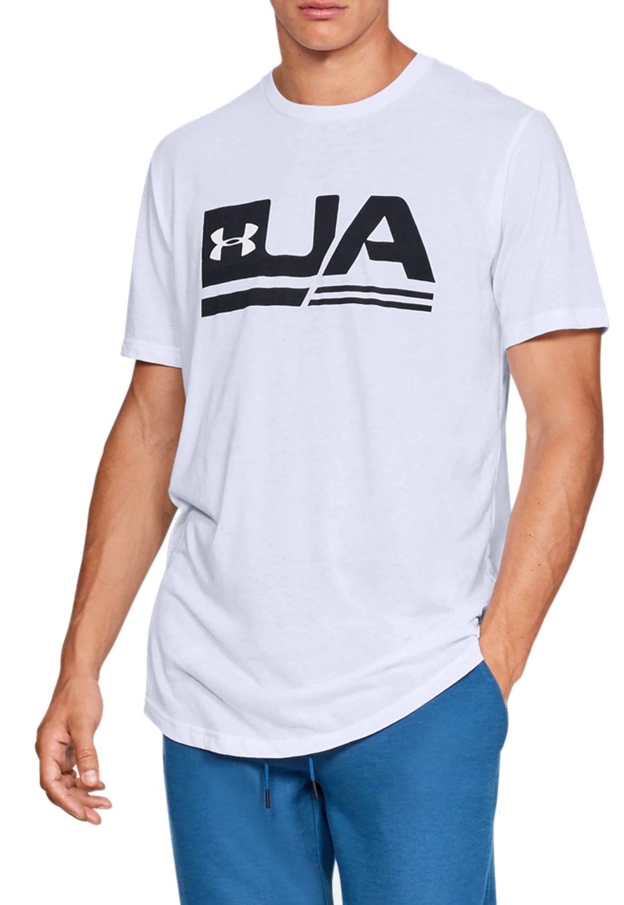 Under Armour UA SPORTSTYLE SS DROP HEM Rövid ujjú póló