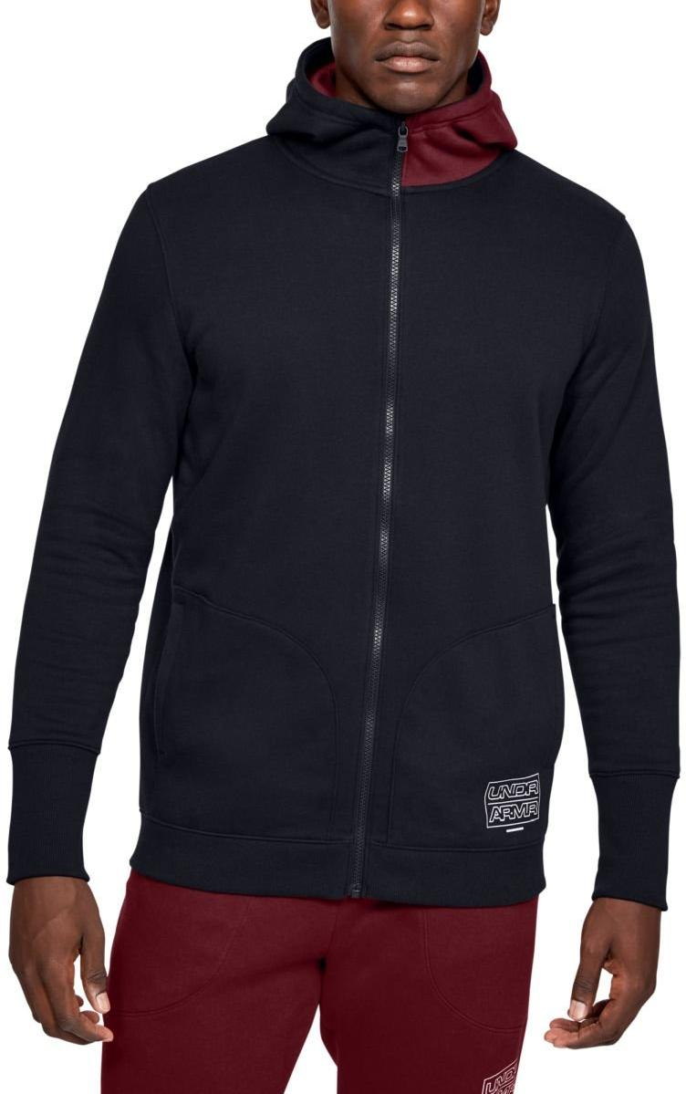 Under Armour UA BASELINE FLEECE FZ HOOD Kapucnis melegítő felsők