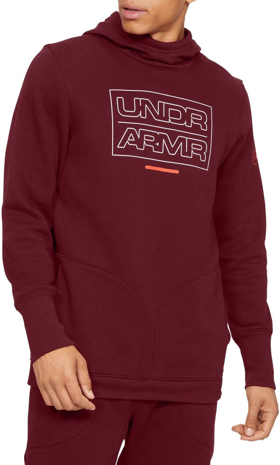 Under Armour UA BASELINE FLEECE PO HOOD Kapucnis melegítő felsők